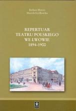 logo Repertuar Teatru Polskiego we Lwowie 1900-1906