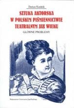 logo Sztuka aktorska w polskim piśmiennictwie teatralnym XIX wieku