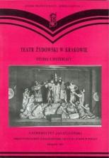 logo Teatr Żydowski w Krakowie. Studia i materiały