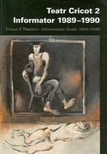 logo Informator 1989-1990. Teatr Cricot 2