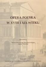 logo Opera polska w XVIII i XIX wieku