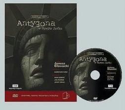 logo Antygona w Nowym Jorku (dvd + książka )