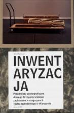 logo Inwentaryzacja, przedmioty scenograficzne Jerzego Grzegorzewskiego