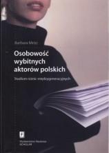 logo Osobowość wybitnych aktorów polskich. Studium różnic międzygeneracyjnych