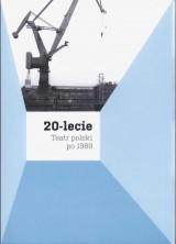 logo 20-lecie. Teatr polski po 1989