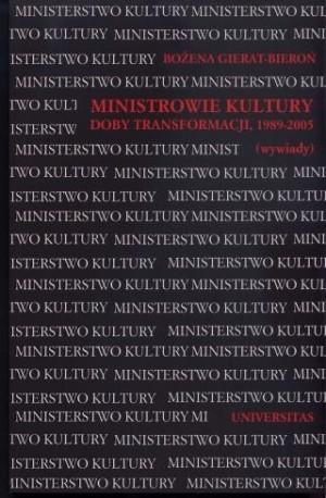 zdjęcie Ministrowie kultury doby transformacji, 1989-2005 (wywiady)