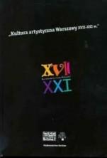 logo Kultura artystyczna Warszawy XVII - XXI wiek