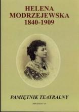logo Pamiętnik Teatralny 2009 zeszyt 3-4. Helena Modrzejewska 1840-1909