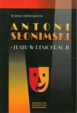 logo Antoni Słonimski - Teatr w demokracji