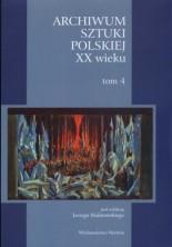 logo Archiwum Sztuki Polskiej XX wieku. Tom 4. Twórczość scenograficzna Wincentego Drabika