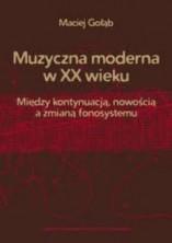 logo Muzyczna moderna w XX wieku. Między kontynuacją, nowością a zmianą fonosystemu