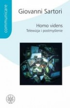 logo Homo videns. Telewizja i postmyślenie