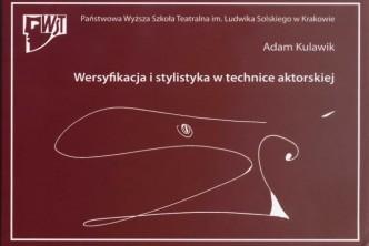 logo Wersyfikacja i stylistyka w technice aktorskiej