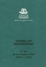 logo Zdzisław Mrożewski. 55 lat pracy artystycznej (1932-1987)