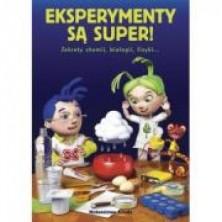 logo Eksperymenty są super. sekrety chemii, bilogii, fizyki... 50 doświadczeń + naukowe ABC