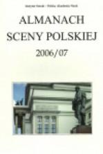 logo Almanach Sceny Polskiej 2006/07