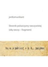 logo Słownik polszczyzny rzeczywistej (siłą rzeczy fragment)