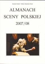 logo Almanach Sceny Polskiej 2007/08