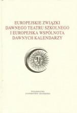 logo Europejskie związki dawnego teatru szkolnego i europejska wspólnota dawnych kalendarzy