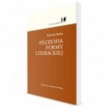 logo Filozofia formy literackiej
