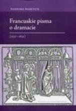 logo Francuskie pisma o dramacie (1537-1631)
