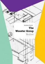 logo The Wooster Group. Brulion