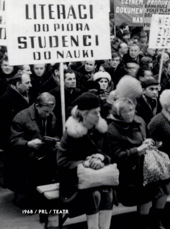 zdjęcie 1968/PRL/Teatr