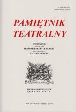 logo Pamiętnik Teatralny 2016/3