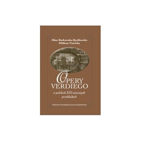 zdjęcie Opery Verdiego w polskich XIX-wiecznych przekładach