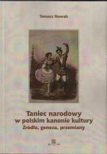 logo Taniec narodowy w polskim kanonie kultury. Źródła, geneza, przemiany