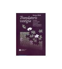"""logo Translatoris vestigia. Projekcje isncenizacyjne wybranych polskich tłumaczy """"Orestei"""" Ajschylosa"""