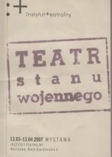 logo Teatr stanu wojennego