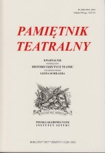 logo Pamiętnik Teatralny 2017/1-2