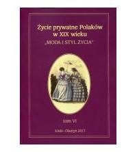"""logo Życie prywatne Polaków w XIX wieku. """"Moda i styl życia"""""""